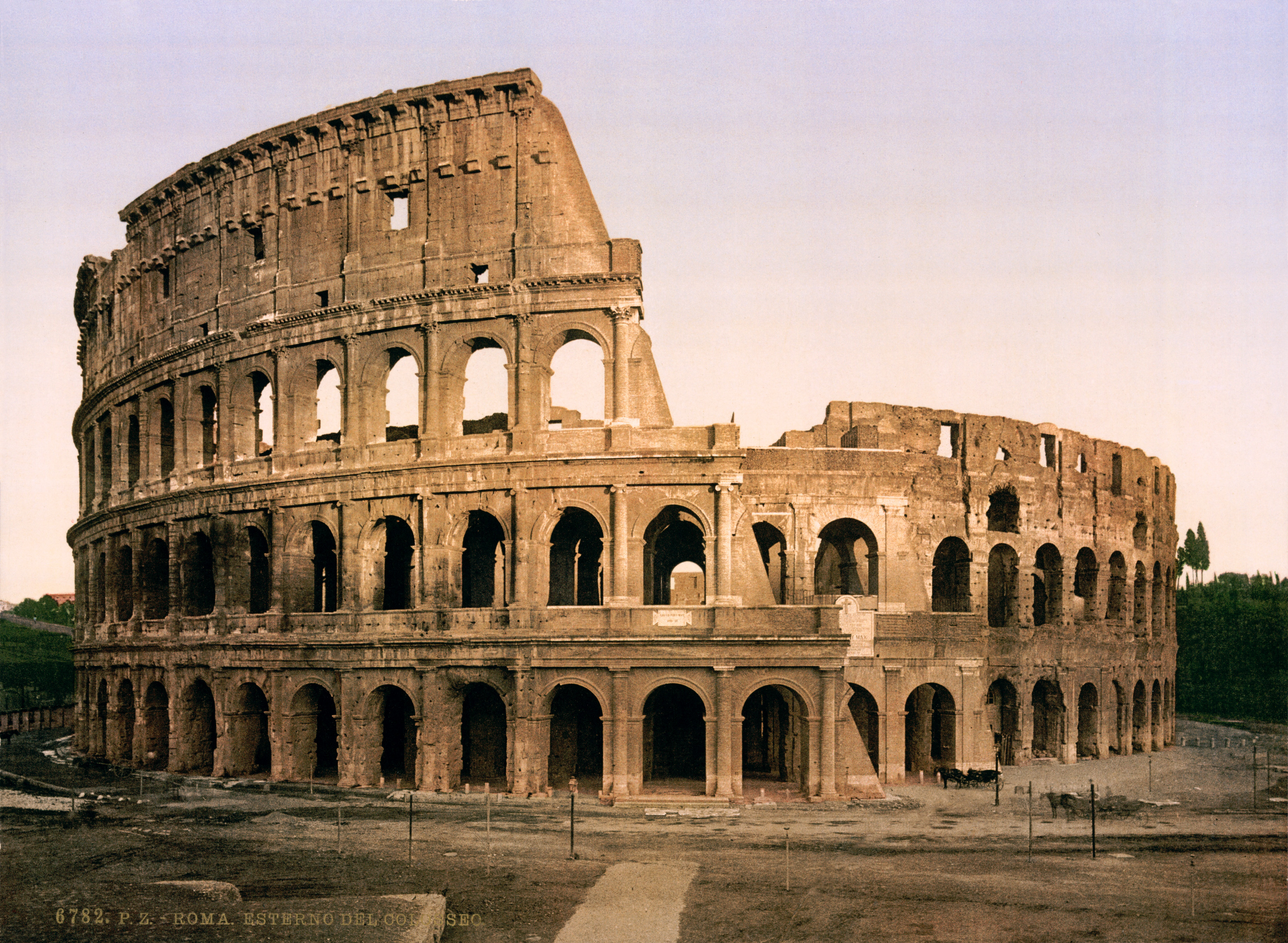 Flickr Trialsanderrors The Colosseum Rome Italy Ca 1896